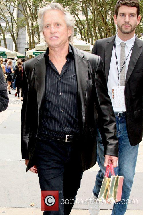 Michael Douglas and Michael Kors 2