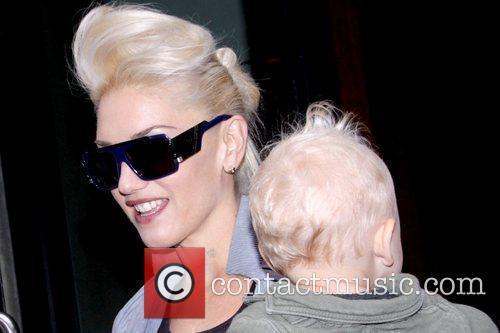 Gwen Stefani and Zuma Rossdale 2