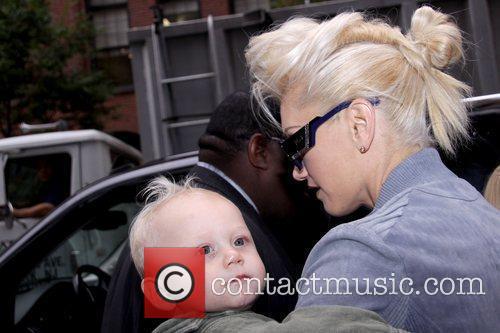 Zuma Rossdale and Gwen Stefani Mercedes-Benz IMG New...