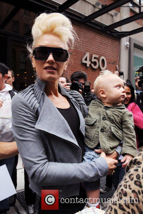 Gwen Stefani and Zuma Rossdale 5