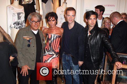 Giuseppe Zanotti, Victoria Beckham, Guest and Milo Ventimiglia...