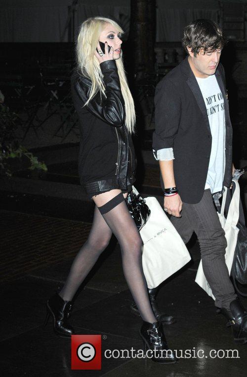 Taylor Momsen Mercedes-Benz IMG New York Fashion Week...