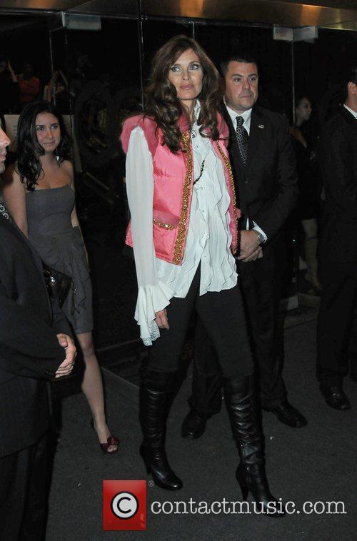 Carol Alt Mercedes-Benz IMG New York Fashion Week...