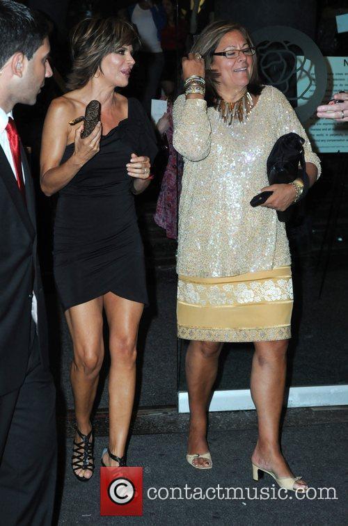 Lisa RInna Mercedes-Benz IMG New York Fashion Week...