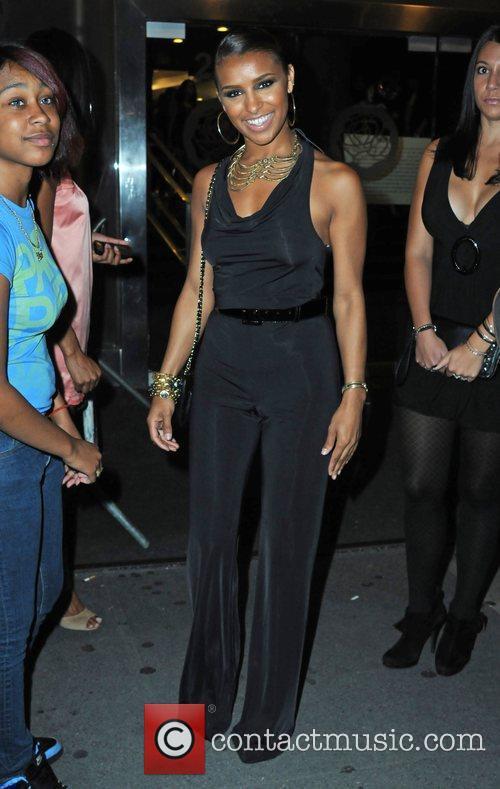 Melody Thornton Mercedes-Benz IMG New York Fashion Week...
