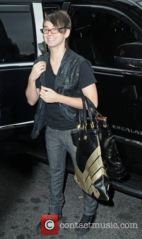 Christian Siriano Arriving At Bryant Park 3