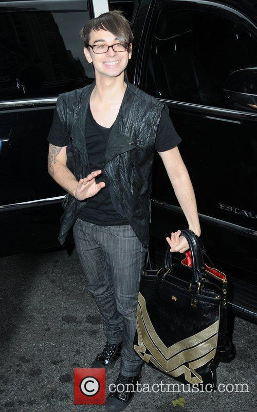 Christian Siriano Arriving At Bryant Park 1