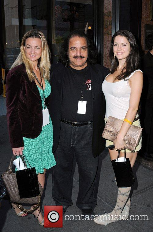 Ron Jeremy Celebrities at Bryant Park hotel during...