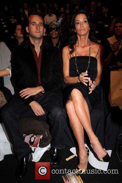 Janice Dickinson Mercedes-Benz IMG New York Fashion Week...