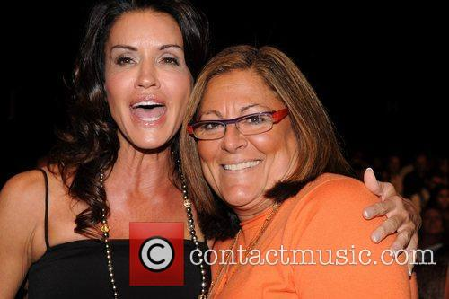 Janice Dickinson and Fern Mallis Mercedes-Benz IMG New...