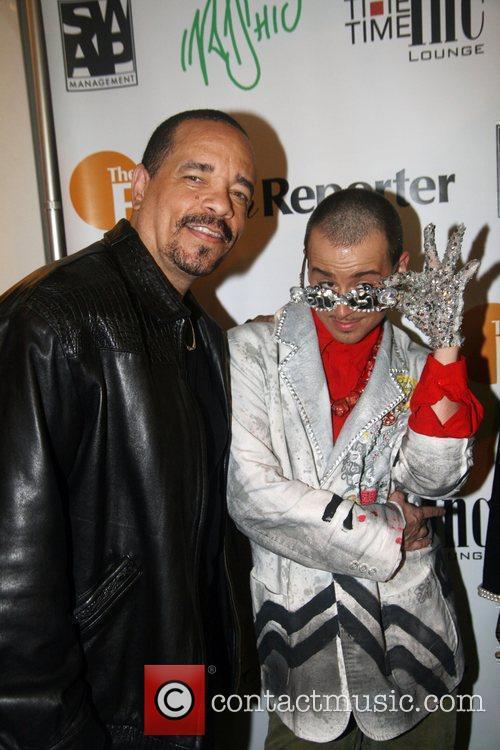 Ice-T and Indashio Indashio fashion show after party...
