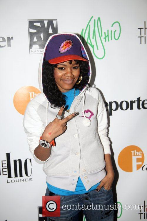 Teyana Taylor Indashio fashion show after party held...