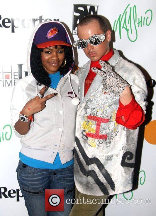 Teyana Taylor and Indashio Indashio fashion show after...