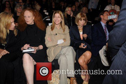 Grace Coddington, Anna Wintour and Isaac Mizrahi 2