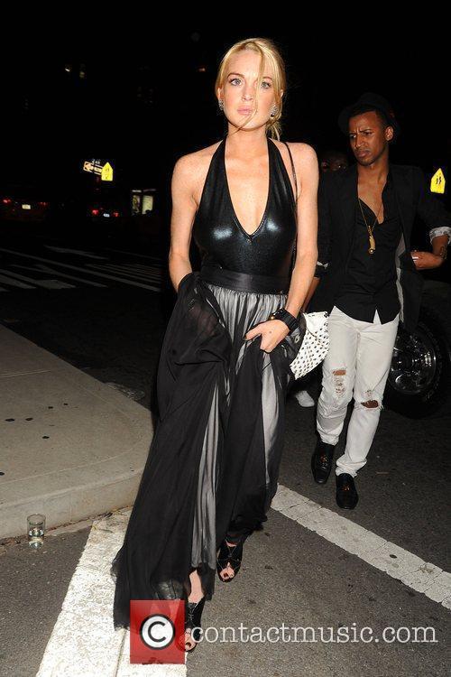 Lindsay Lohan and Marc Jacobs 3