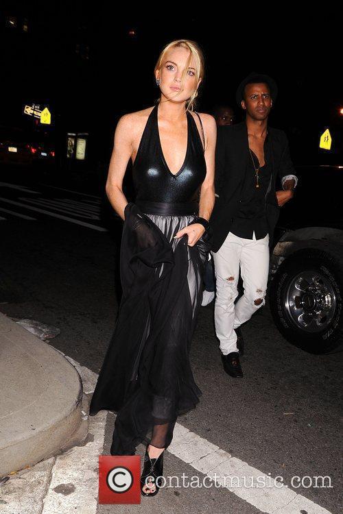 Lindsay Lohan and Marc Jacobs 1