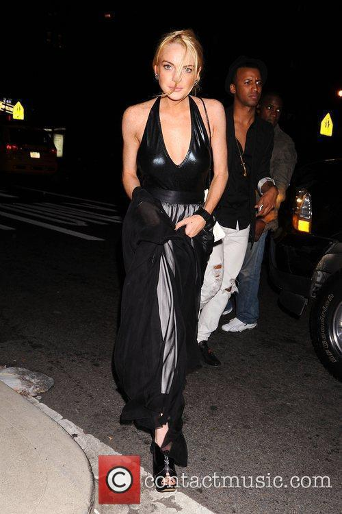 Lindsay Lohan and Marc Jacobs 2