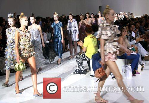 Mercedes-Benz IMG New York Fashion Week Spring/Summer 2010...