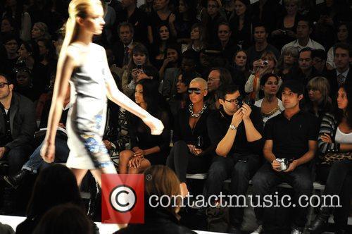 Amber Rose Mercedes-Benz IMG New York Fashion Week...