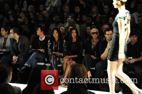 Ciara and Amber Rose Mercedes-Benz IMG New York...