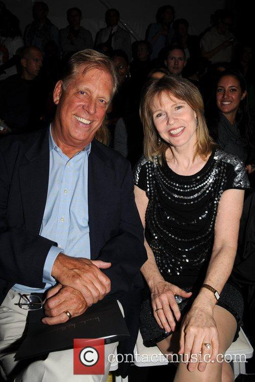 Donna Hanover and guest Mercedes-Benz IMG New York...