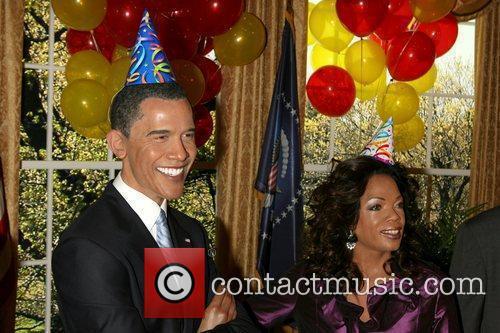 Barack Obama and Oprah Winfrey 5