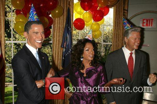 Barack Obama, Bill Clinton and Oprah Winfrey 2