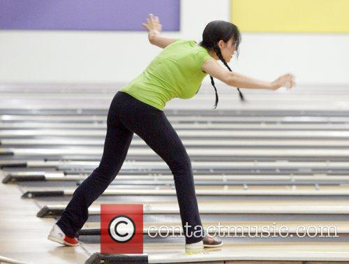 Nadya Suleman Aka Octomon Takes Some Of Her Children Bowling 2