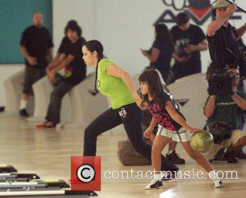 Nadya Suleman Aka Octomon Takes Some Of Her Children Bowling 5