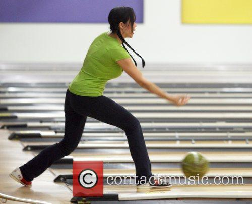 Nadya Suleman Aka Octomon Takes Some Of Her Children Bowling 6