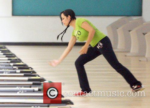 Nadya Suleman Aka Octomon Takes Some Of Her Children Bowling 4
