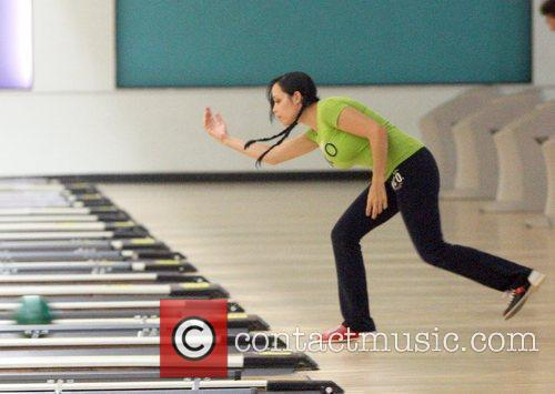 Nadya Suleman Aka Octomon Takes Some Of Her Children Bowling 3