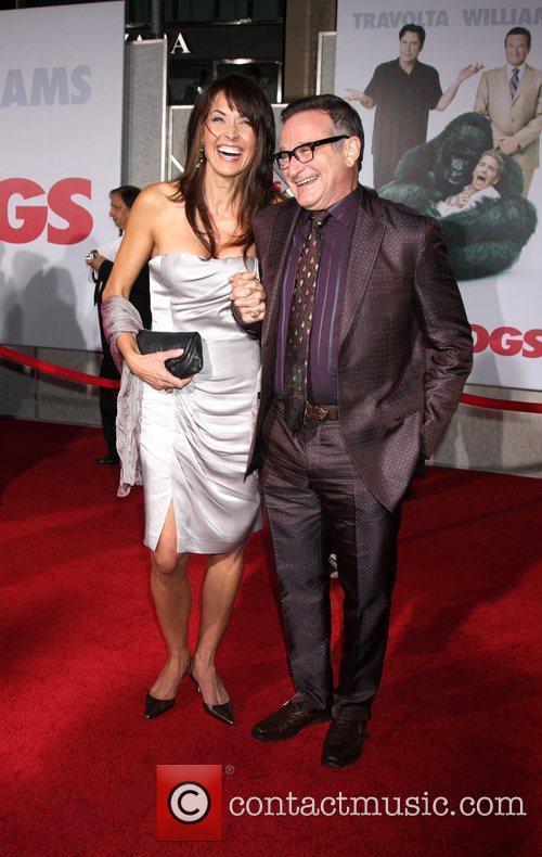 Robin Williams and Susan Schneider 6
