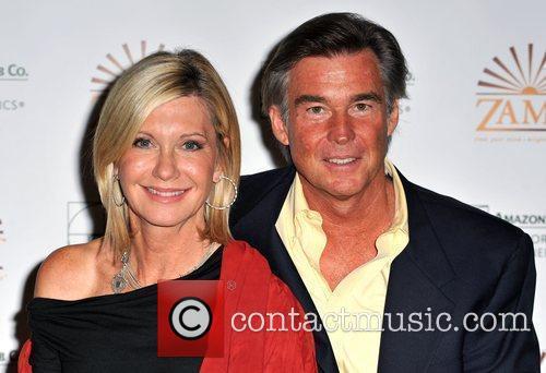 Olivia Newton-John, her husband John Easterling aka Amazon John
