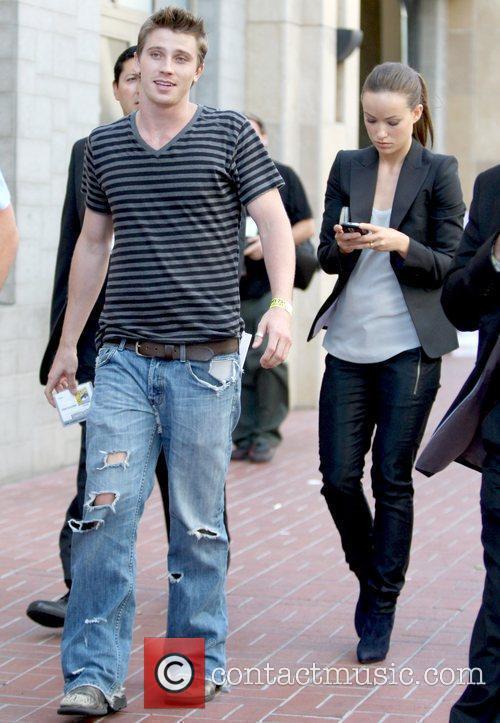 Garrett Hedlund and Olivia Wilde 'TRON 2.0' stars...
