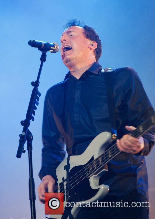Andy McCluskey Orchestral Manoeuvres in the Dark performing...