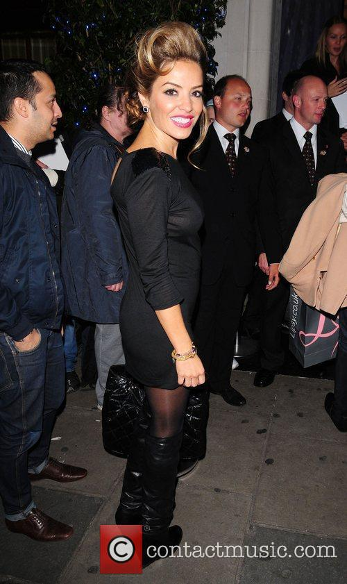 Elen Rives OMEGA constellation 2009 launch party at...