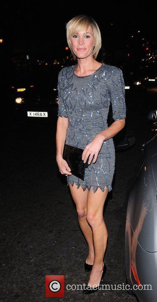 Jenni Falconer OMEGA constellation 2009 launch party at...