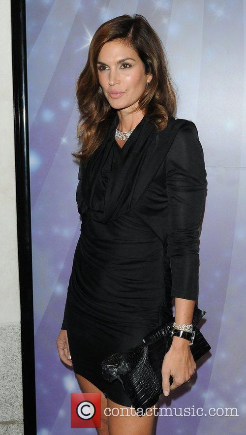 Cindy Crawford OMEGA constellation 2009 launch party at...