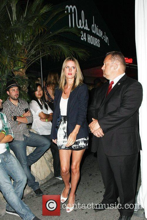 Nicky Hilton The Op party at Mel's Diner...