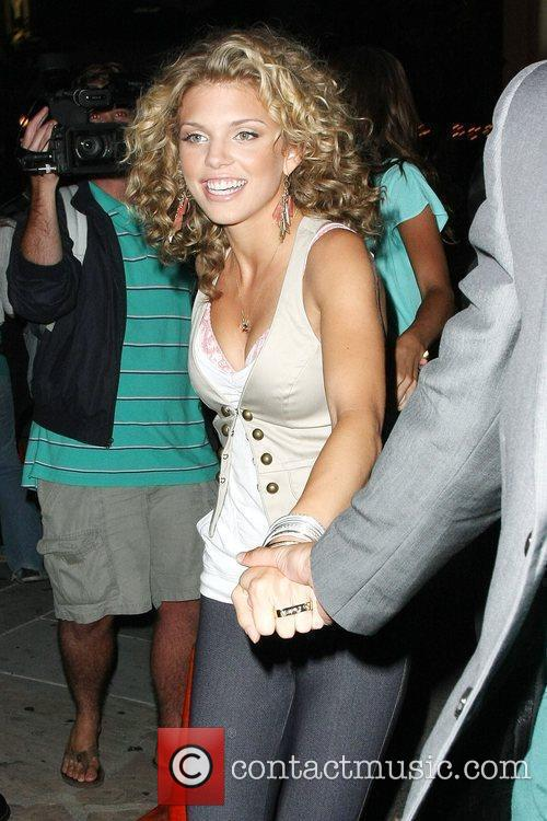 AnnaLynne McCord  The Op party at Mel's...