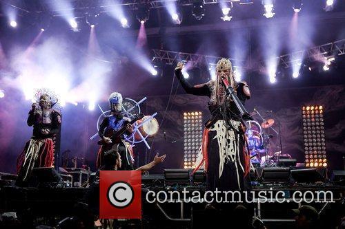 Blasted Mechanism performingat Optimus Alive! in Portugal 11/07/09