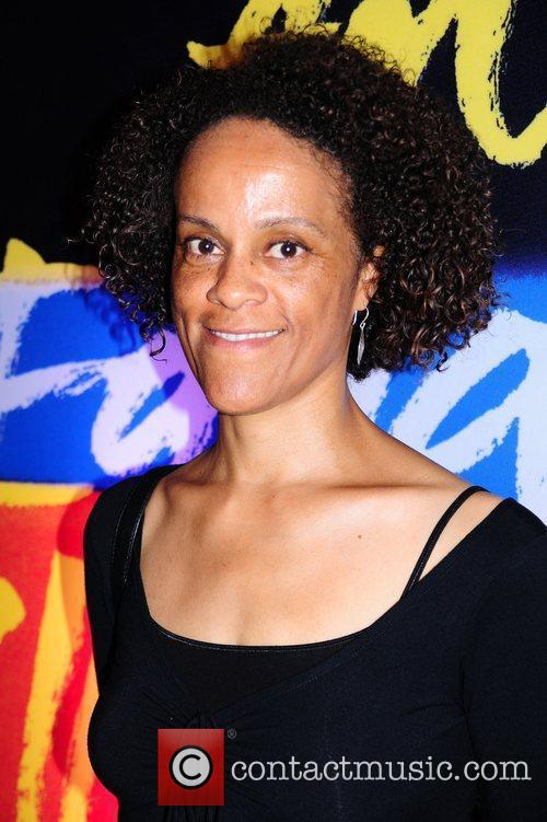Author Bernadine Evaristo  attends the Orange Prize...