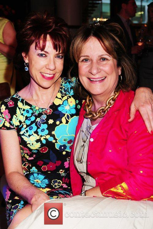 Author Kathy Letz and Baroness Helena Kennedy...