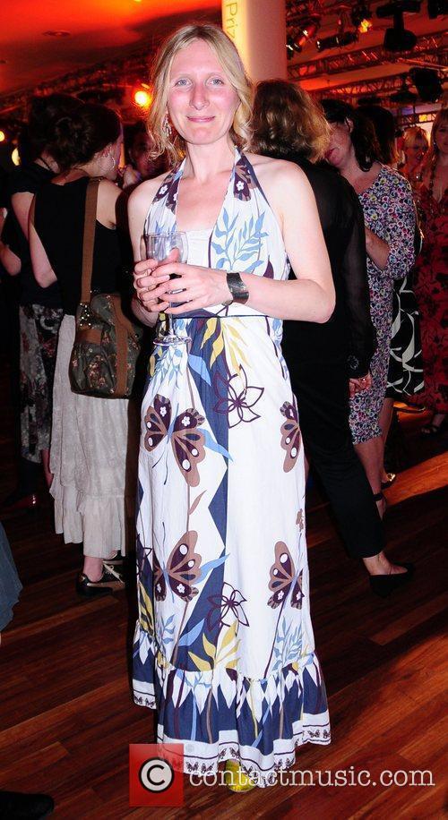 Samantha Harvet, shortlisted for her fiction book, 'The...