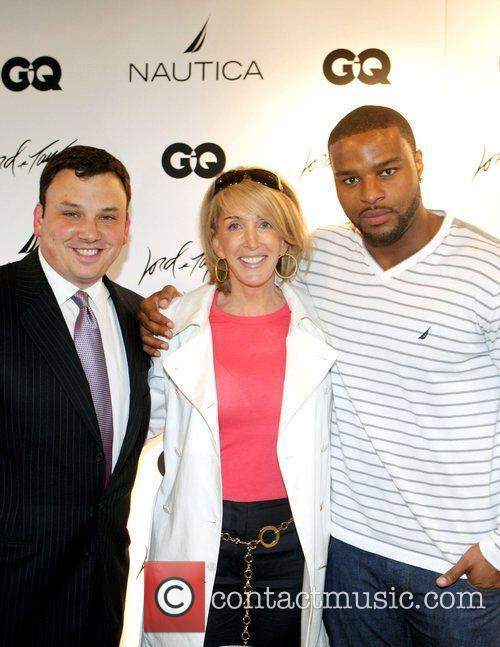 Brandon Hoffman, Osi Umenyiora and guest Nautica, Lord...