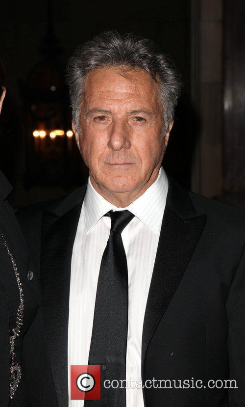 Actor Dustin Hoffman  New York's publics library...