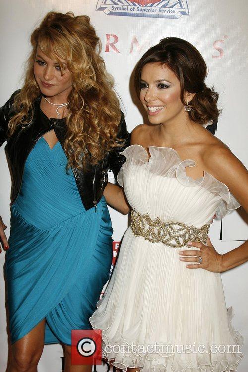 Paulina Rubio and Eva Longoria 1