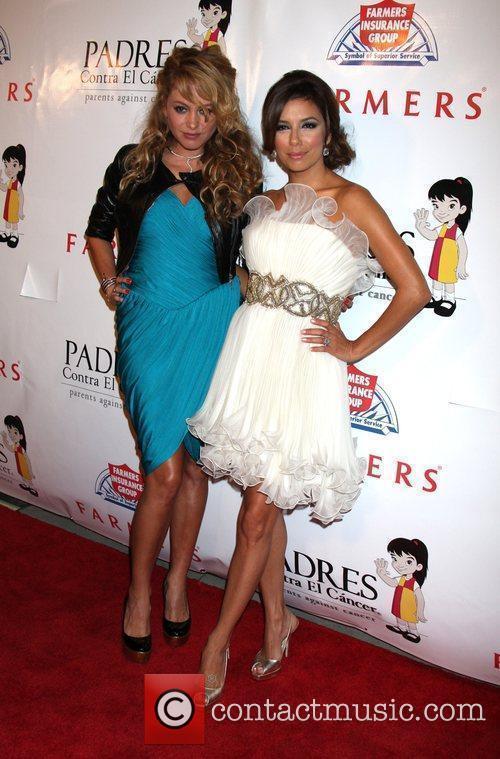 Paulina Rubio and Eva Longoria 9