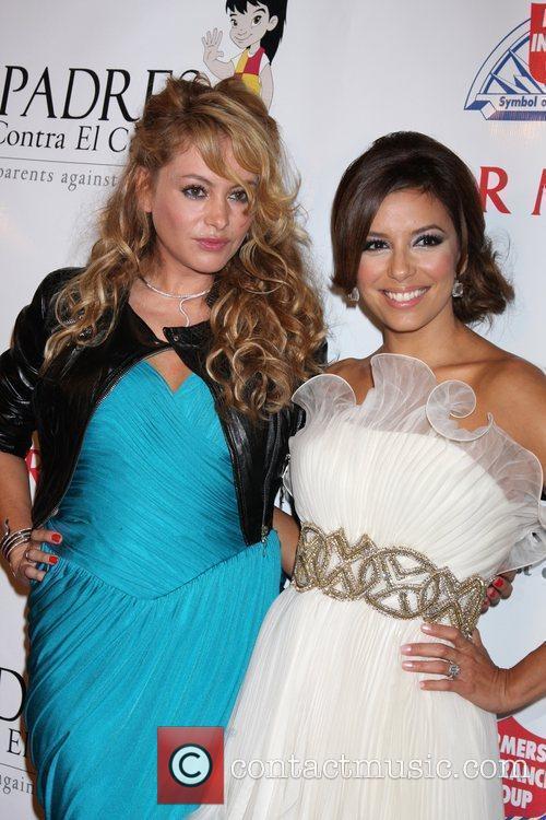 Paulina Rubio and Eva Longoria 8